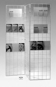 Dekogitter für Wand und Raum