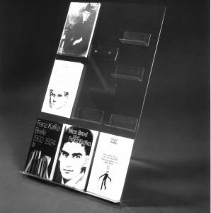 Vitrinenbuchständer für 10 Bücher