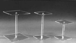 Plexiglassäulen