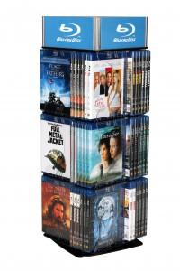 tischdrehsäule für Blu-ray